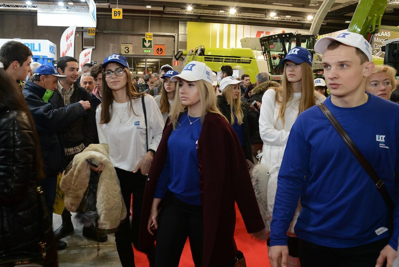 Борис Колесников показал студентам новинки мирового агросектора на выставке в Италии, фото-1