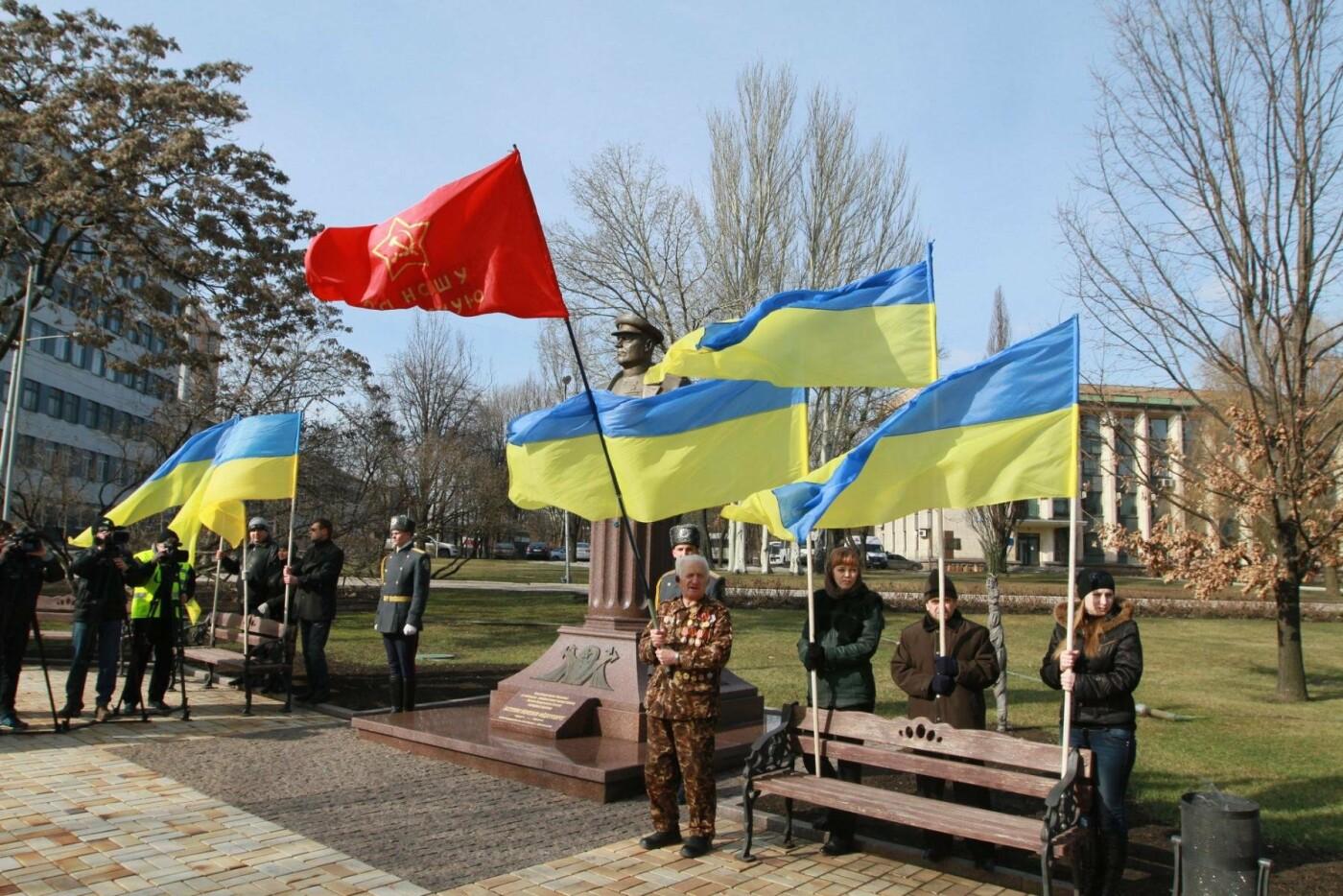 """23 февраля в Донецке 4 года назад: украинцы еще надеялись, но массовка для """"русской весны"""" уже была завезена (Фото), фото-5"""