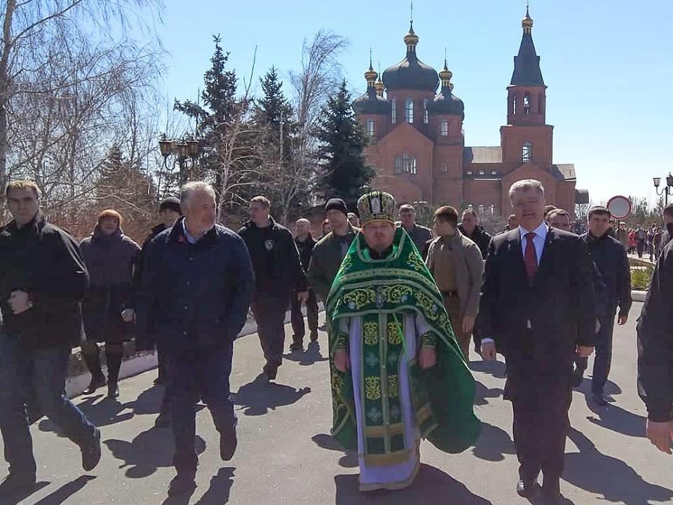 Порошенко в Вербное воскресенье посетил храм в Донецкой области (ФОТО), фото-3