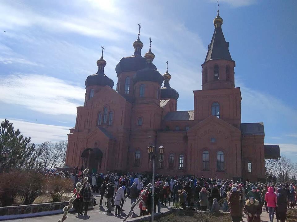 Порошенко в Вербное воскресенье посетил храм в Донецкой области (ФОТО), фото-5