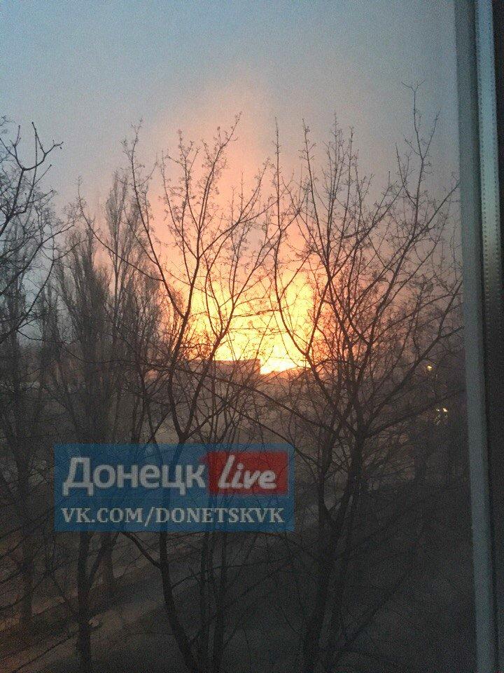 В Донецке ночью сгорели несколько автомобилей (ФОТО, ВИДЕО), фото-1