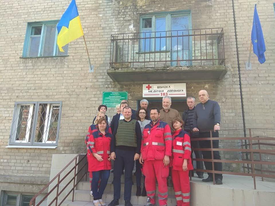 Как Литва помогает прифронтовой Авдеевке (ФОТО), фото-1