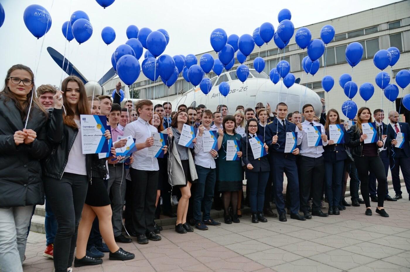 Борис Колесников наградил сотню студентов-авиаторов поездкой на авиафорум Фарнборо в Великобританию  , фото-2