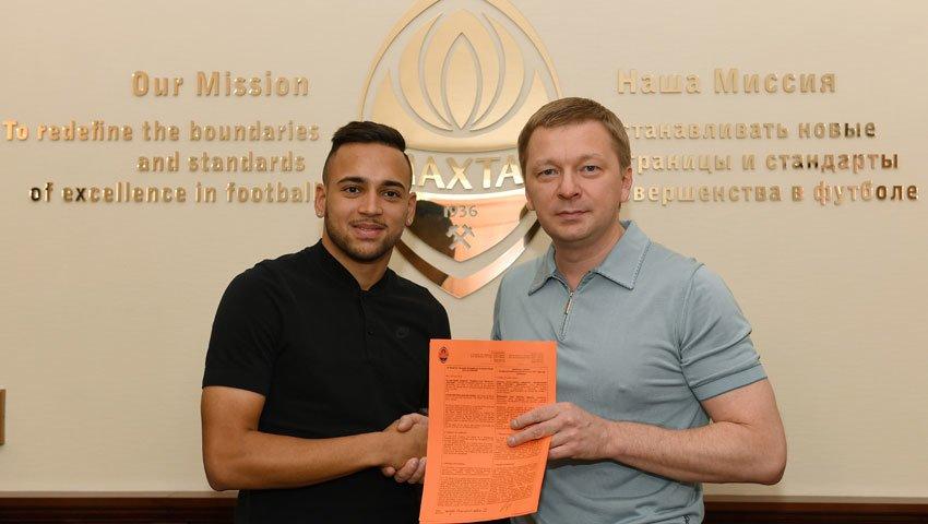 «Шахтер» подписал контракт с еще одной восходящей звездой бразильского футбола, фото-1