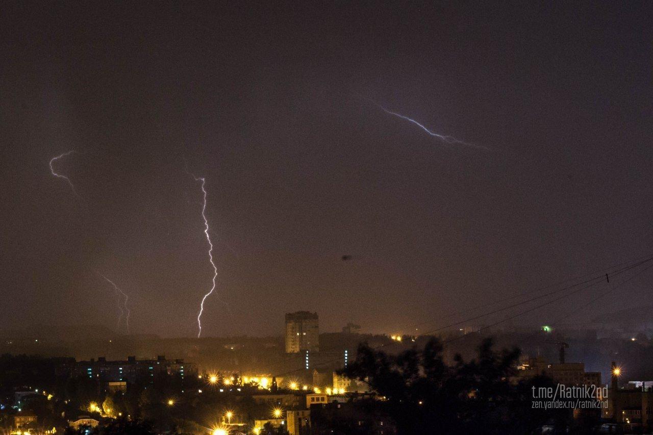 Страшная гроза бушевала всю ночь над Донецком (ФОТО), фото-3