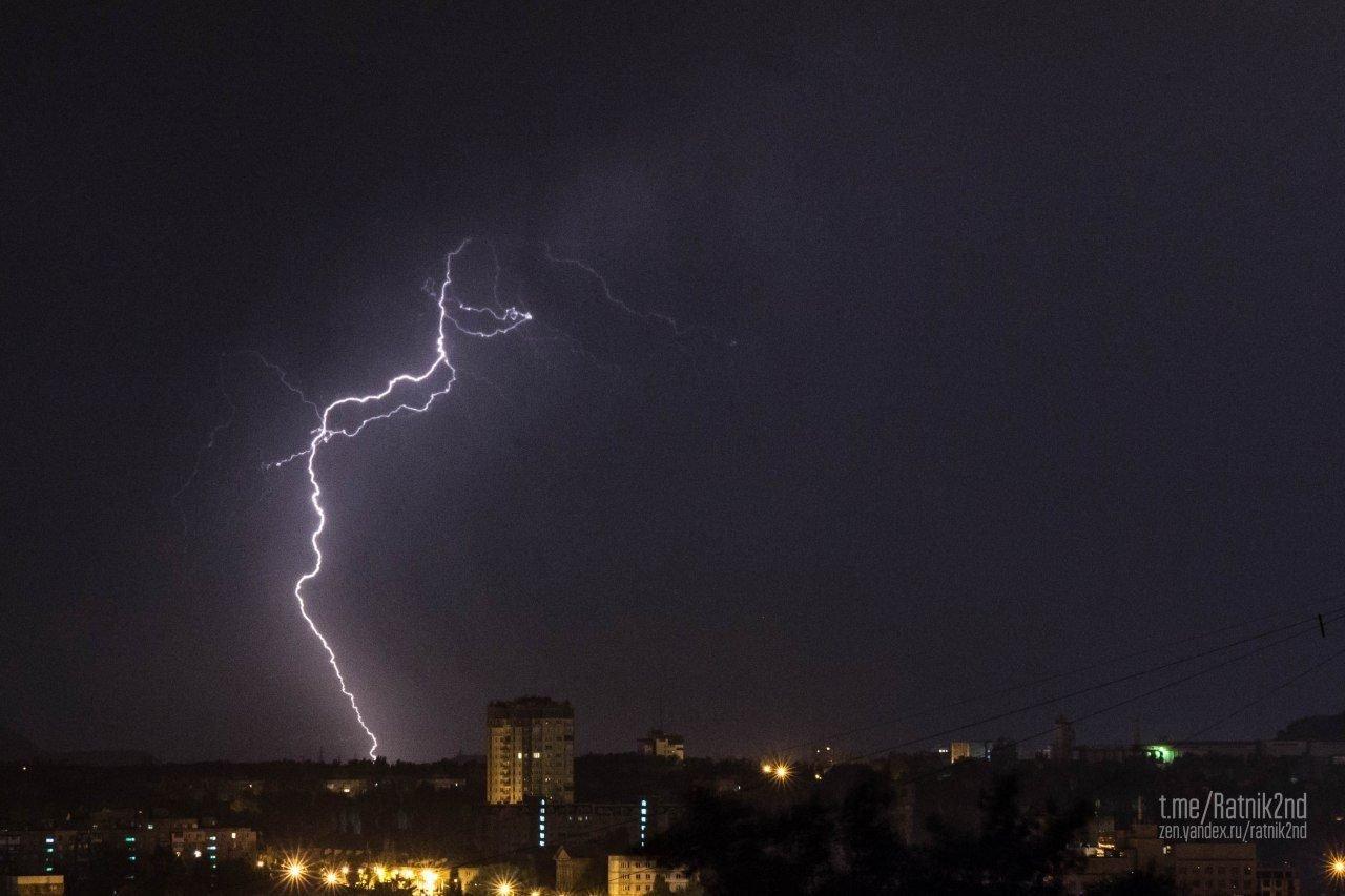 Страшная гроза бушевала всю ночь над Донецком (ФОТО), фото-4
