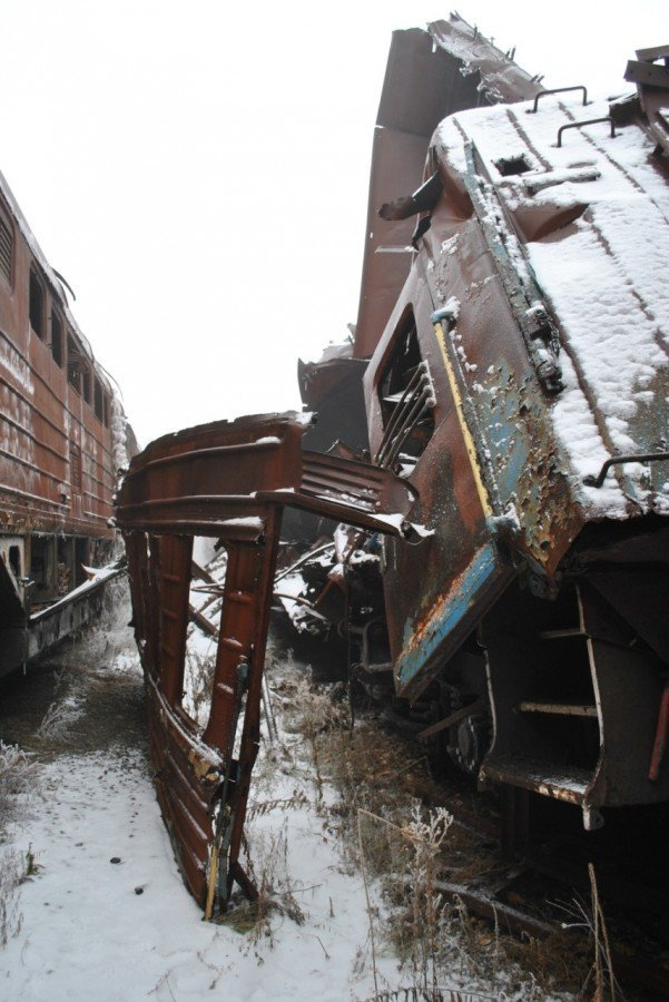 Пятый гол «русского мира»: как выглядит железнодорожная станция в ОРДЛО, - ФОТО, фото-3