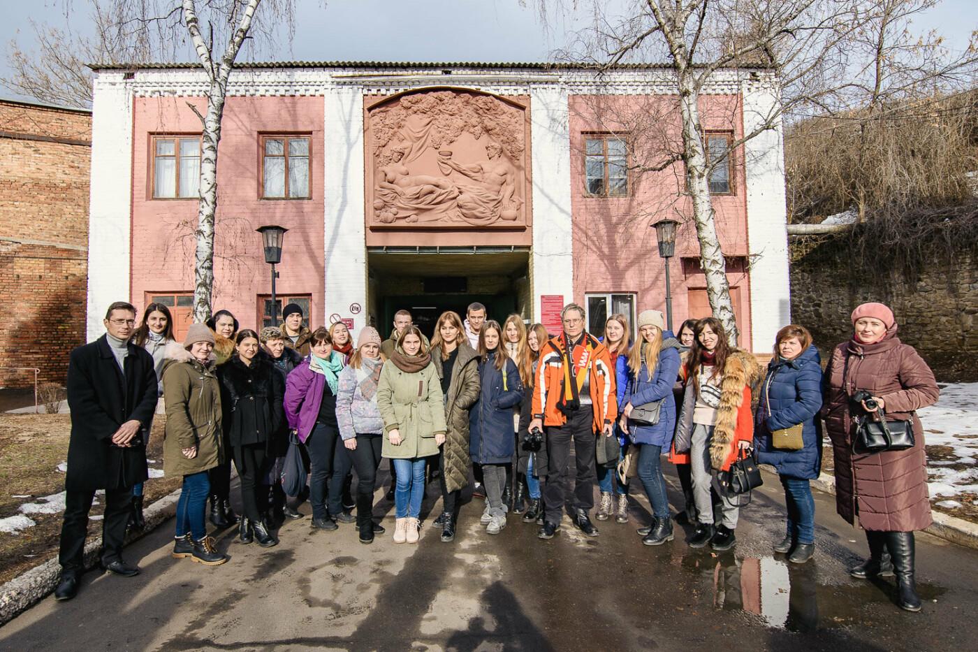 Борис Колесников провел встречу с одесскими студентами-пищевиками на ведущем предприятии Донецкой области , фото-6