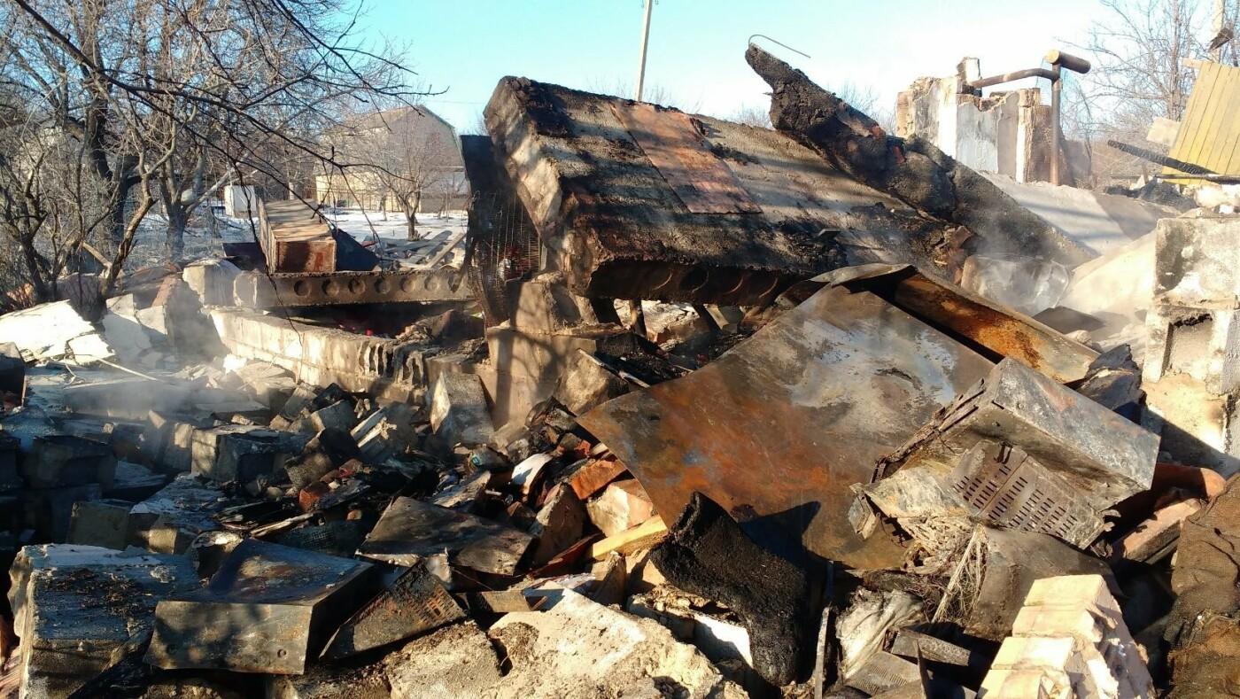 Российские оккупанты обстреляли поселок Новолуганское: разрушен частный дом, - ФОТО, фото-1