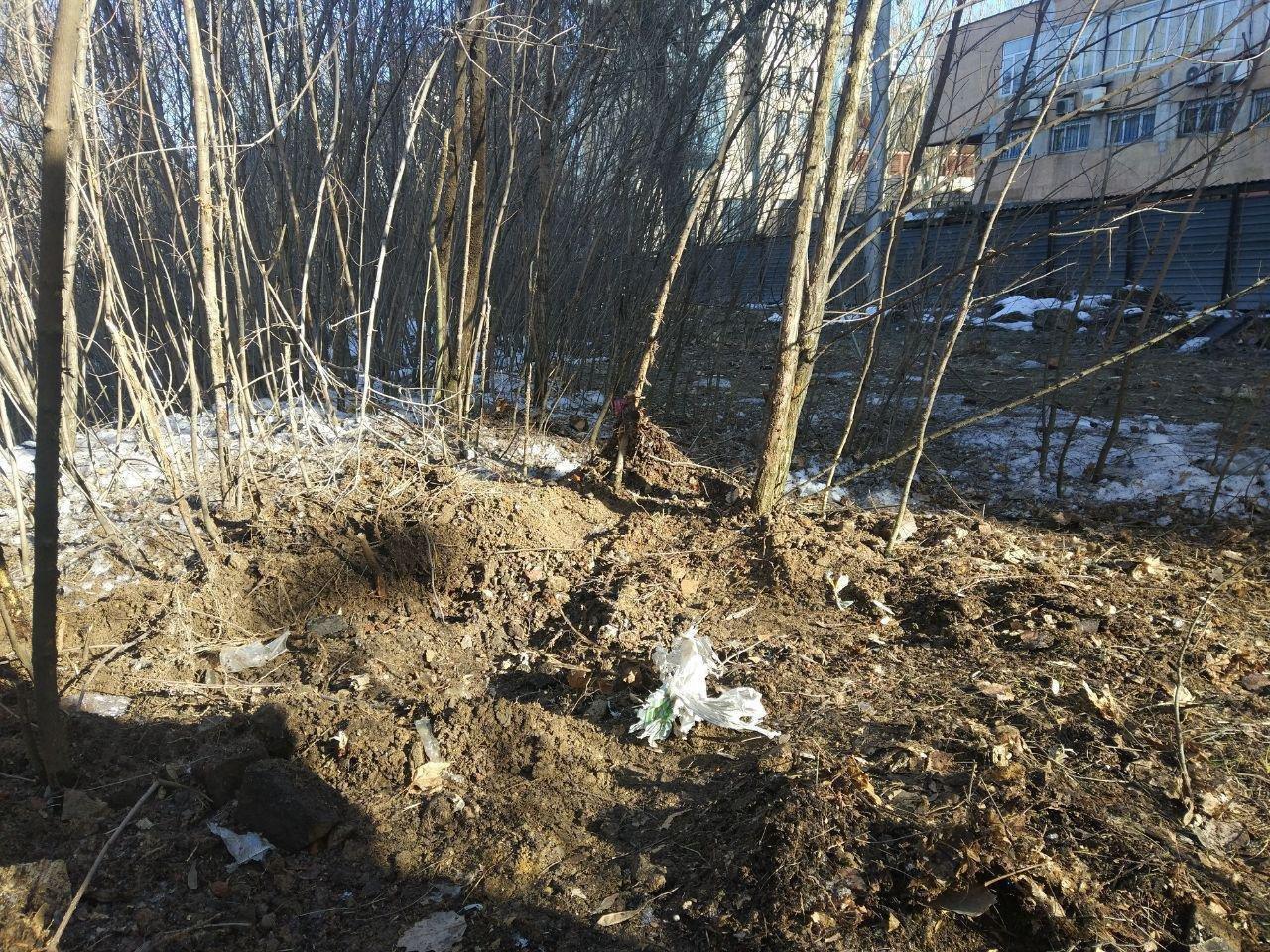 Появились фото с места взрыва в центре Донецка , фото-2