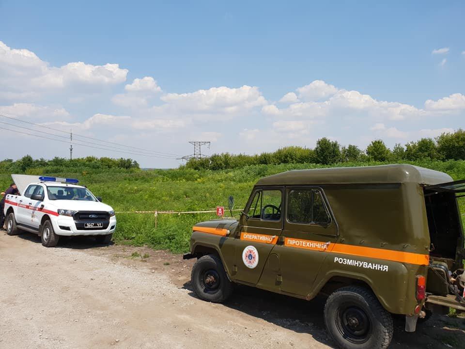 КПВВ «Майорск» временно закрыли - спасатели выявили мину, - ФОТО, фото-4