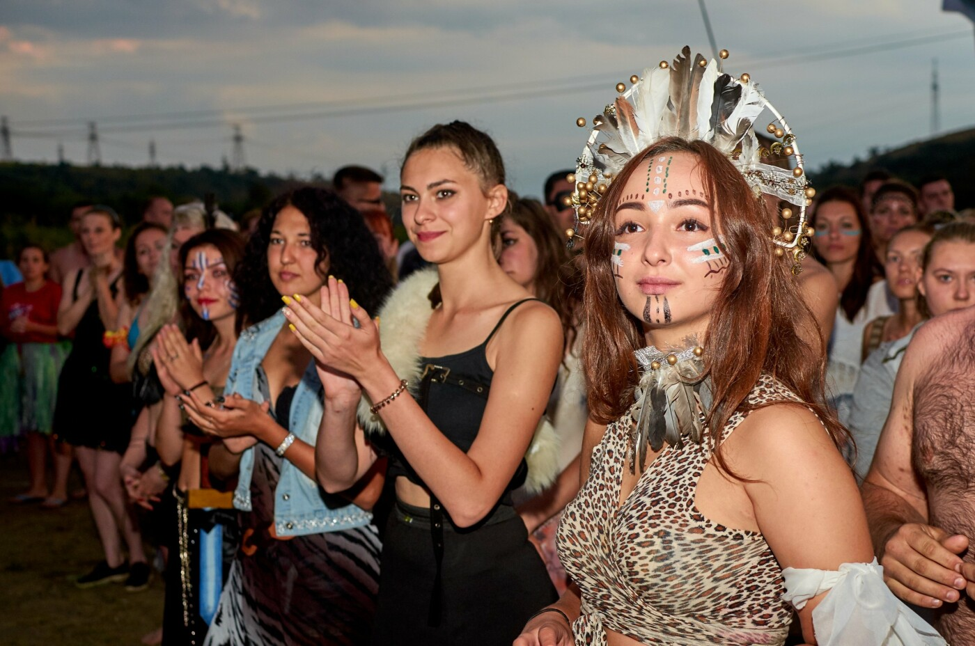 В ОРДЛО устроили молодежный фестиваль с амазонками, рабами, Берией и Сталиным, - ФОТО, фото-8