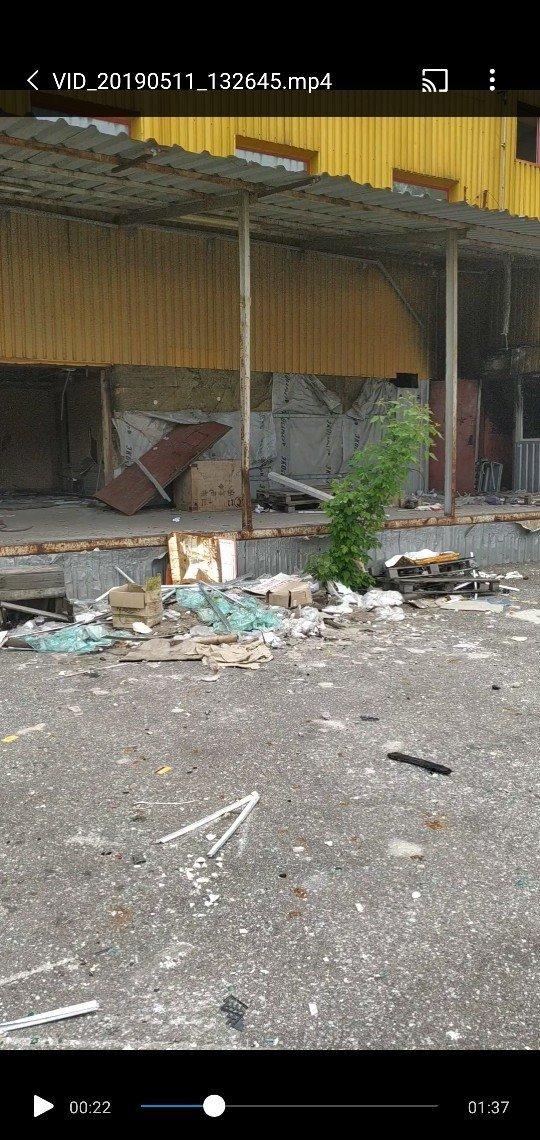 В Макеевке горел торговый центр «Фуршет» , фото-1