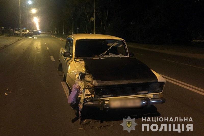 В Краматорске водитель «Москвича» сбил двух человек на пешеходном переходе: один из пострадавших погиб, - ФОТО, фото-1