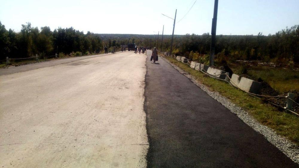 В Станице Луганской  подготовили площадку для установки строительной техники у разрушенной части моста, - ФОТО, фото-1