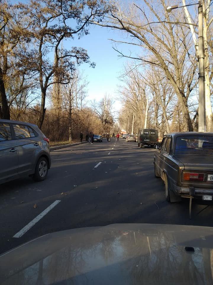 Трагедия в Донецке: дерево упало на машину — погиб пассажир, - ФОТО, фото-1