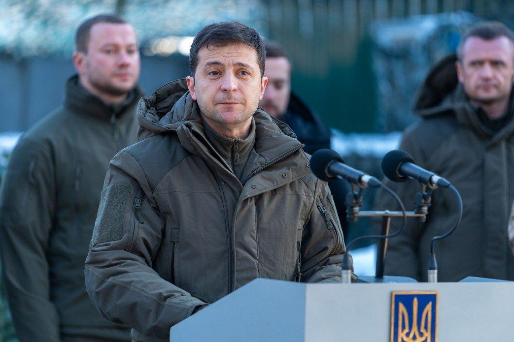 Зеленский в Донецкой области посетил силы ООС и поздравил военных с Днем ВСУ, - ФОТО, фото-1