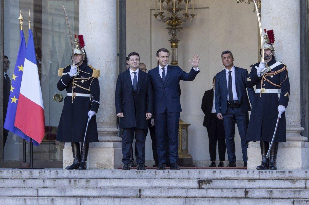 Зеленский прибыл на Нормандский саммит в Париж, - ФОТО