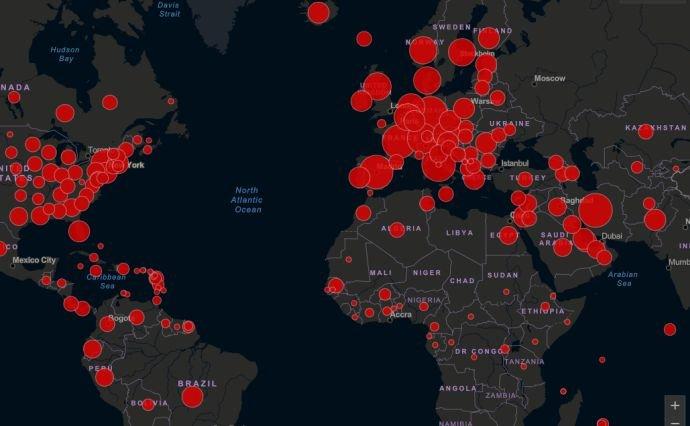 Количество заболевших коронавирусом во всем мире превысило 300 тысяч, фото-1