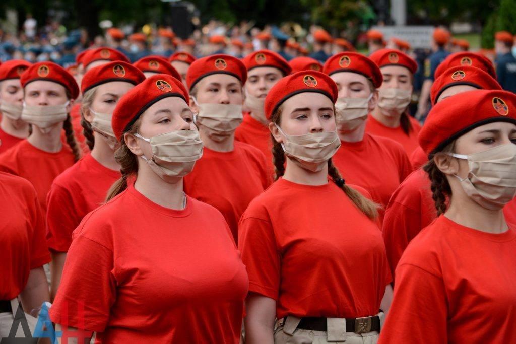 Православный «Хамас» и «Северная Корея»: на параде оккупантов в Донецке пройдут дети, - ФОТО, фото-1