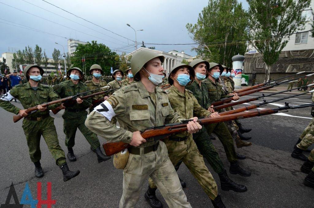 Православный «Хамас» и «Северная Корея»: на параде оккупантов в Донецке пройдут дети, - ФОТО, фото-2