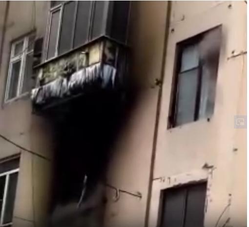 В Макеевке горит многоэтажный дом, - ФОТО, фото-2