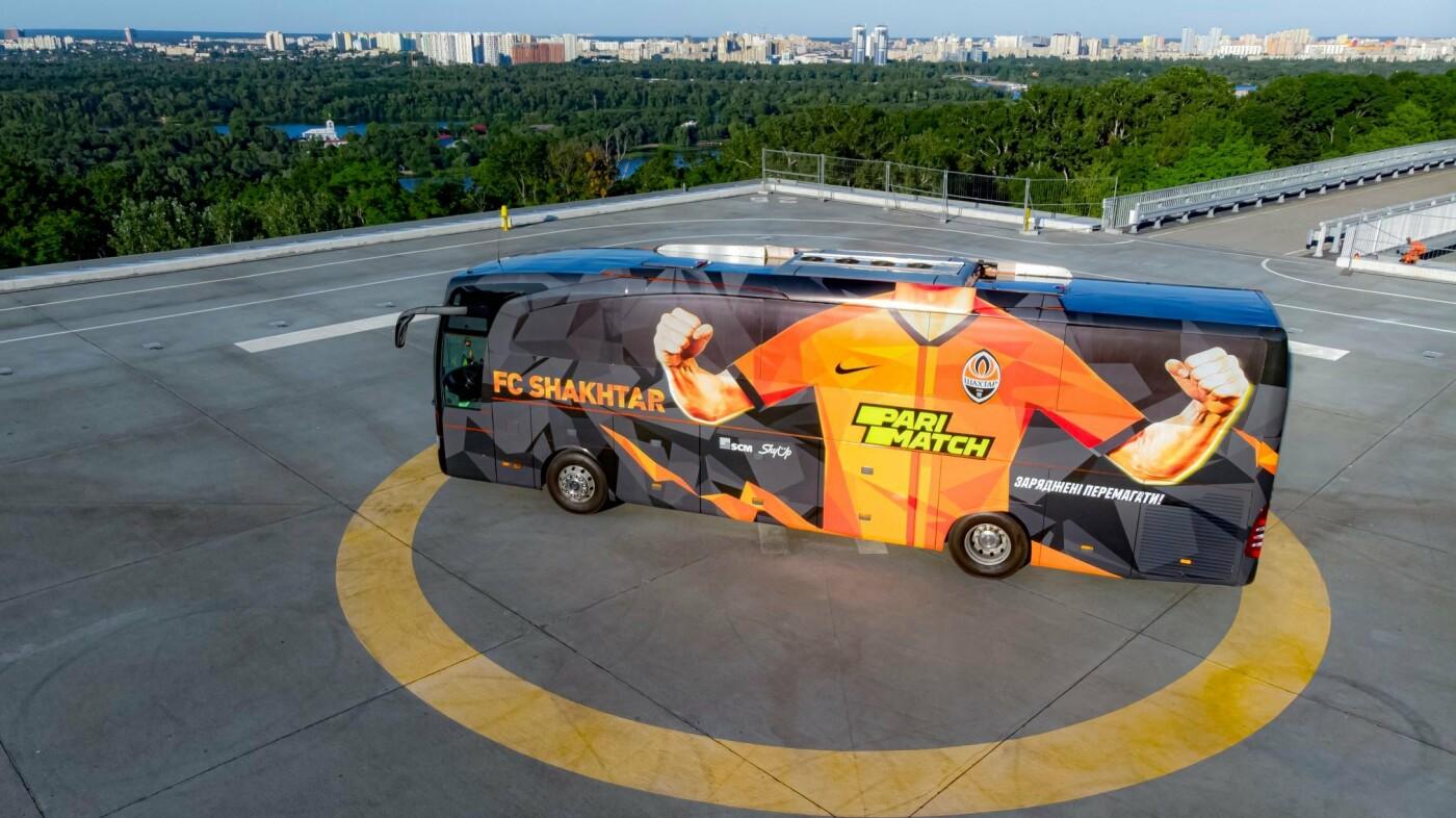 «Шахтер» изменил дизайн клубного автобуса, - ФОТО, фото-1