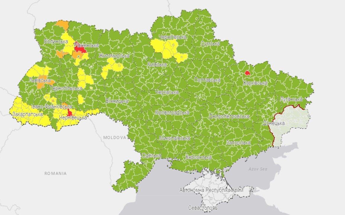 """Донецкая и Луганская области сохранили свое место в """"зеленой зоне"""" карантина, фото-1"""
