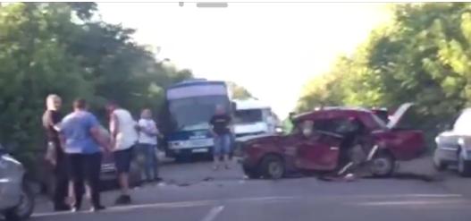На трассе Донецк-Новоазовск пьяные оккупанты устроили серьезное ДТП, - ФОТО, фото-2