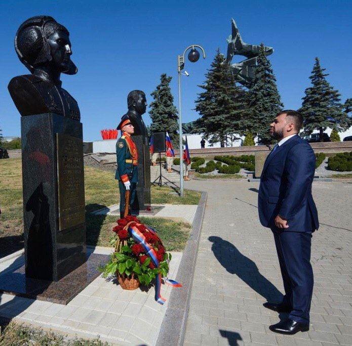 В оккупированном Донецке поставили памятник террористу «Гиви», - ФОТО, фото-3