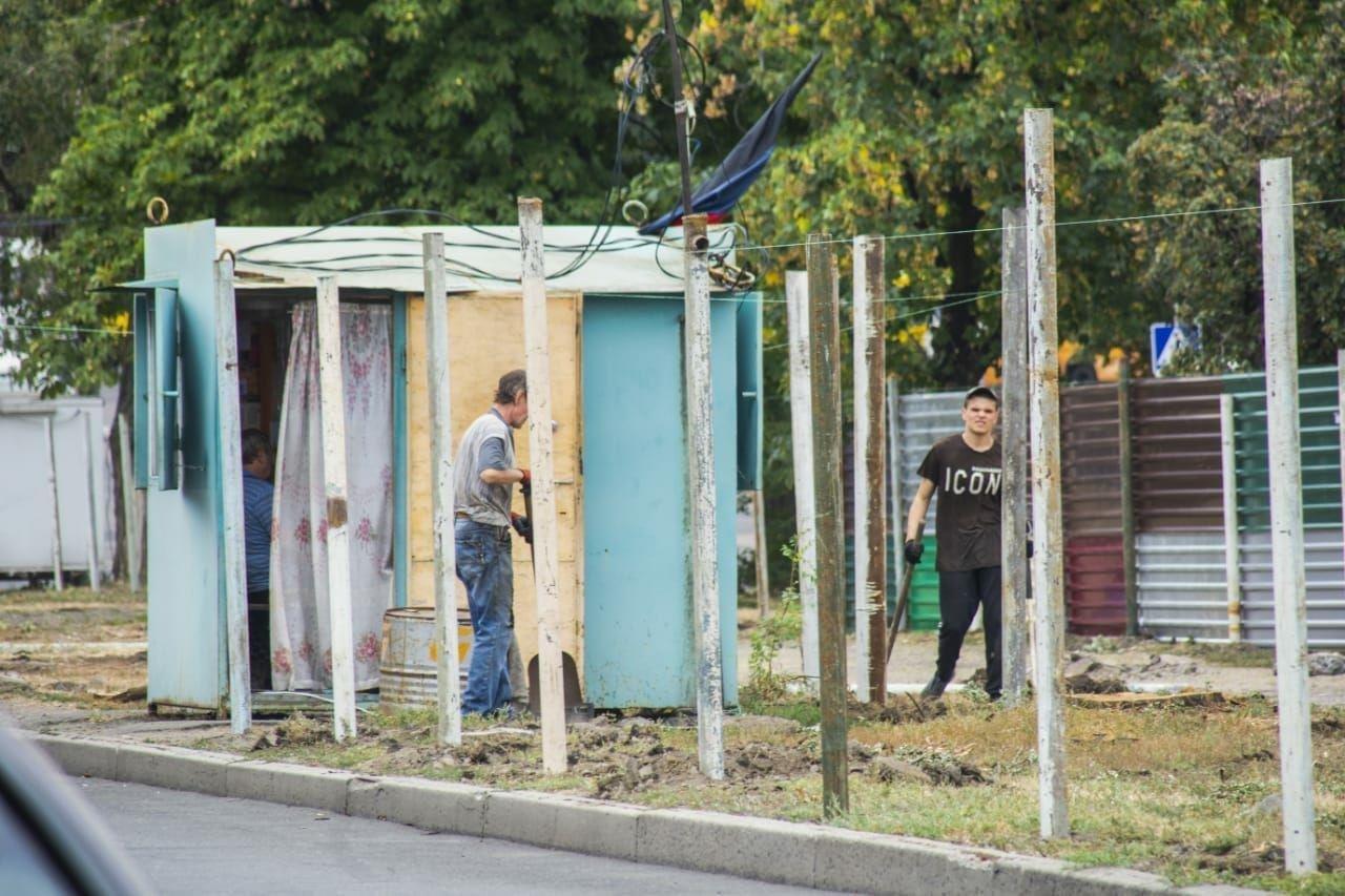 В центре Донецка на территории сквера подельник Пушилина строит рынок, - ФОТО, фото-1