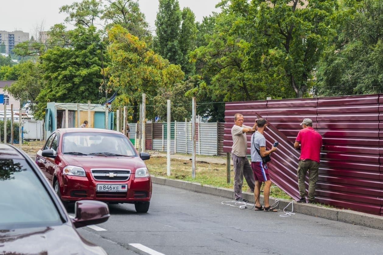В центре Донецка на территории сквера подельник Пушилина строит рынок, - ФОТО, фото-3