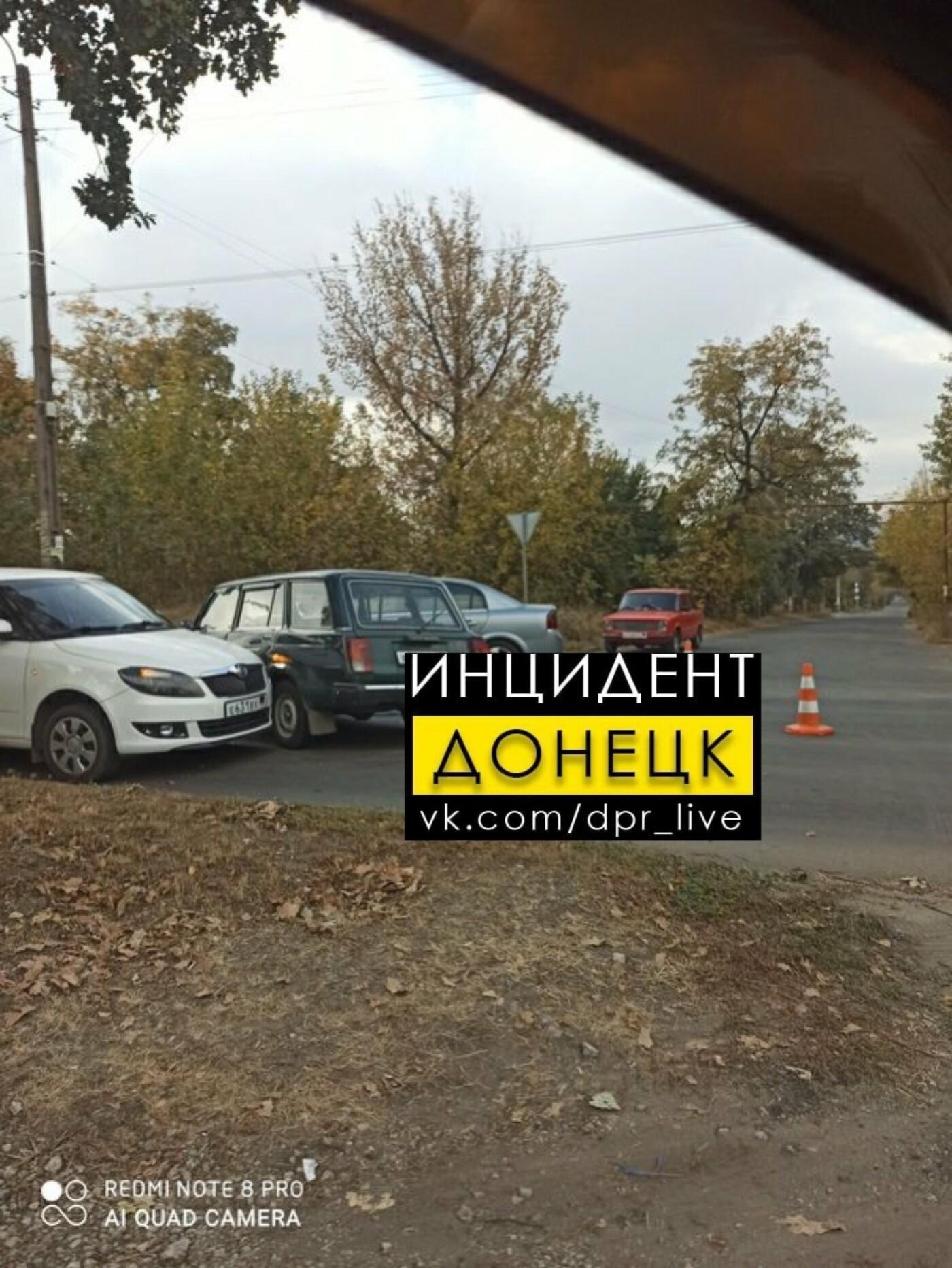 В Донецке произошло тройное ДТП, - ФОТО, фото-2