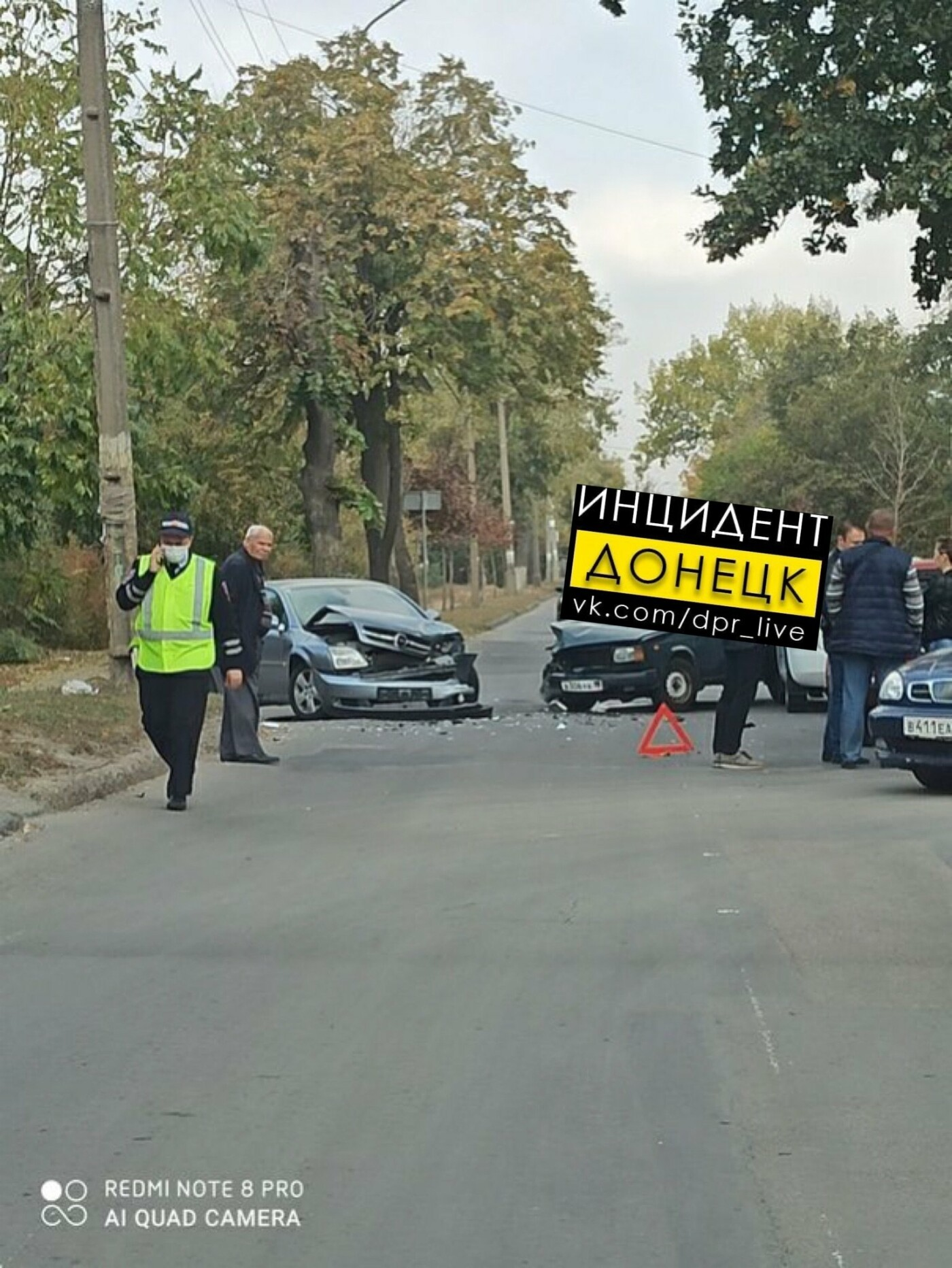 В Донецке произошло тройное ДТП, - ФОТО, фото-1