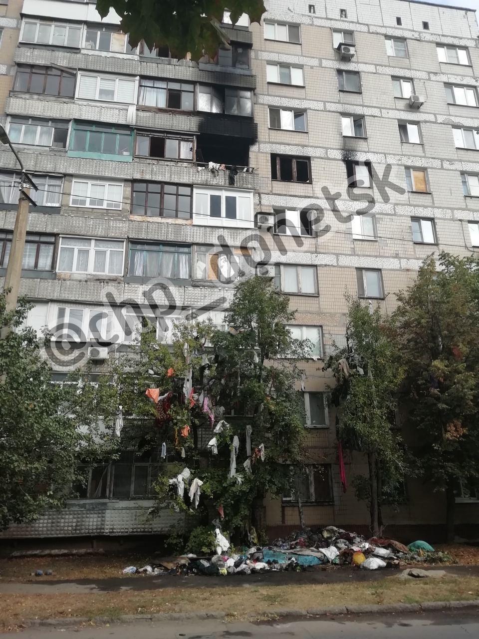 В Донецке пожаром пытались замаскировать убийство двух женщин, - ФОТО, фото-1