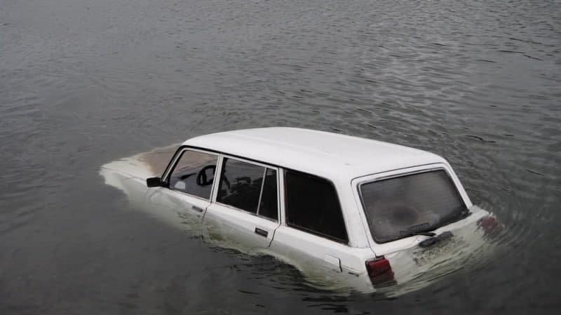 В «ДНР» водитель утонул в своем автомобиле, - ФОТО, фото-1