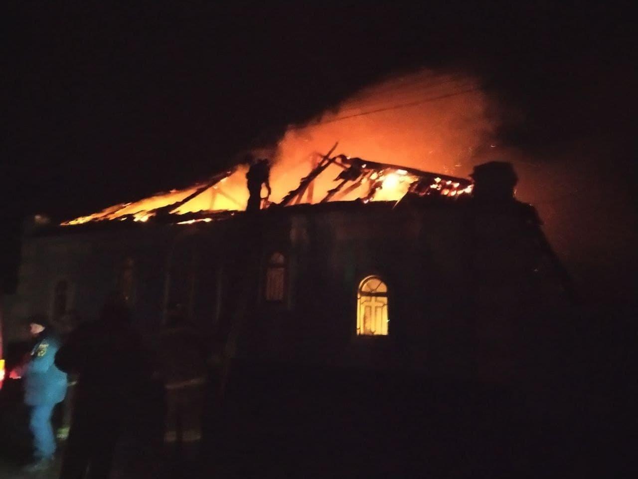 В оккупированной Горловке сгорел православный храм, - ФОТО, фото-1