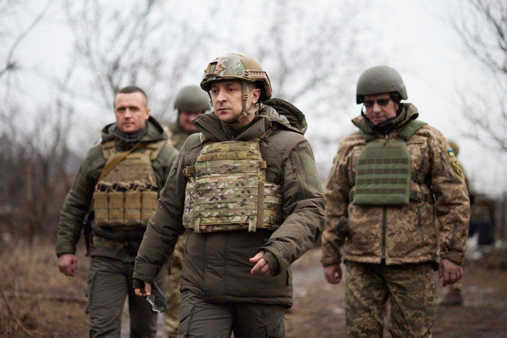 Зеленский показал послам  «большой семерки» линию фронта на Донбассе, - ФОТО, фото-1