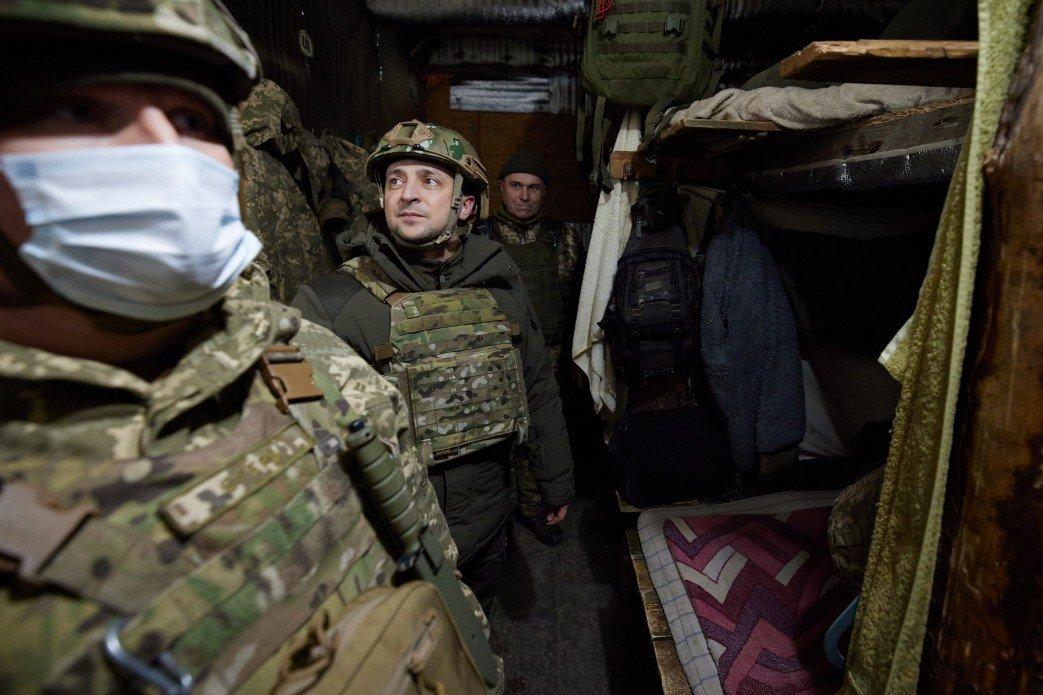Зеленский показал послам  «большой семерки» линию фронта на Донбассе, - ФОТО, фото-3