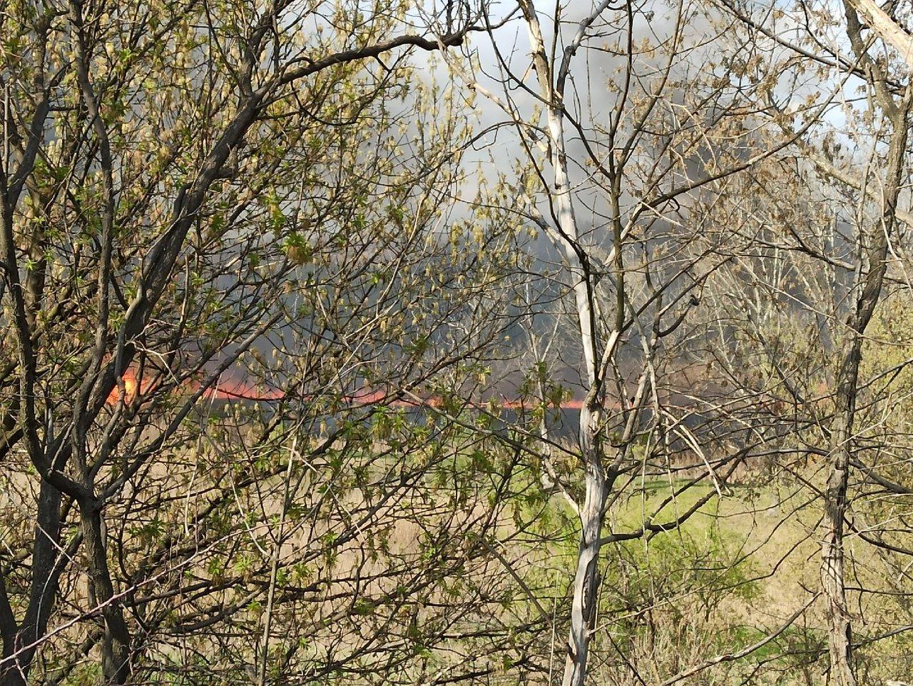 Большой пожар в Донецке: клубы дыма было видно из центра города, - ФОТО, фото-1