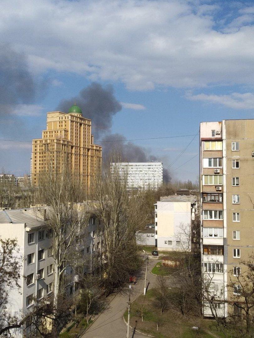 Большой пожар в Донецке: клубы дыма было видно из центра города, - ФОТО, фото-3