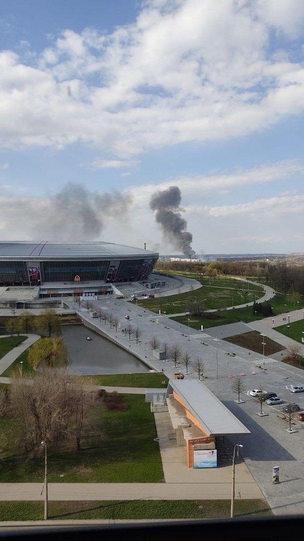 Большой пожар в Донецке: клубы дыма было видно из центра города, - ФОТО, фото-7