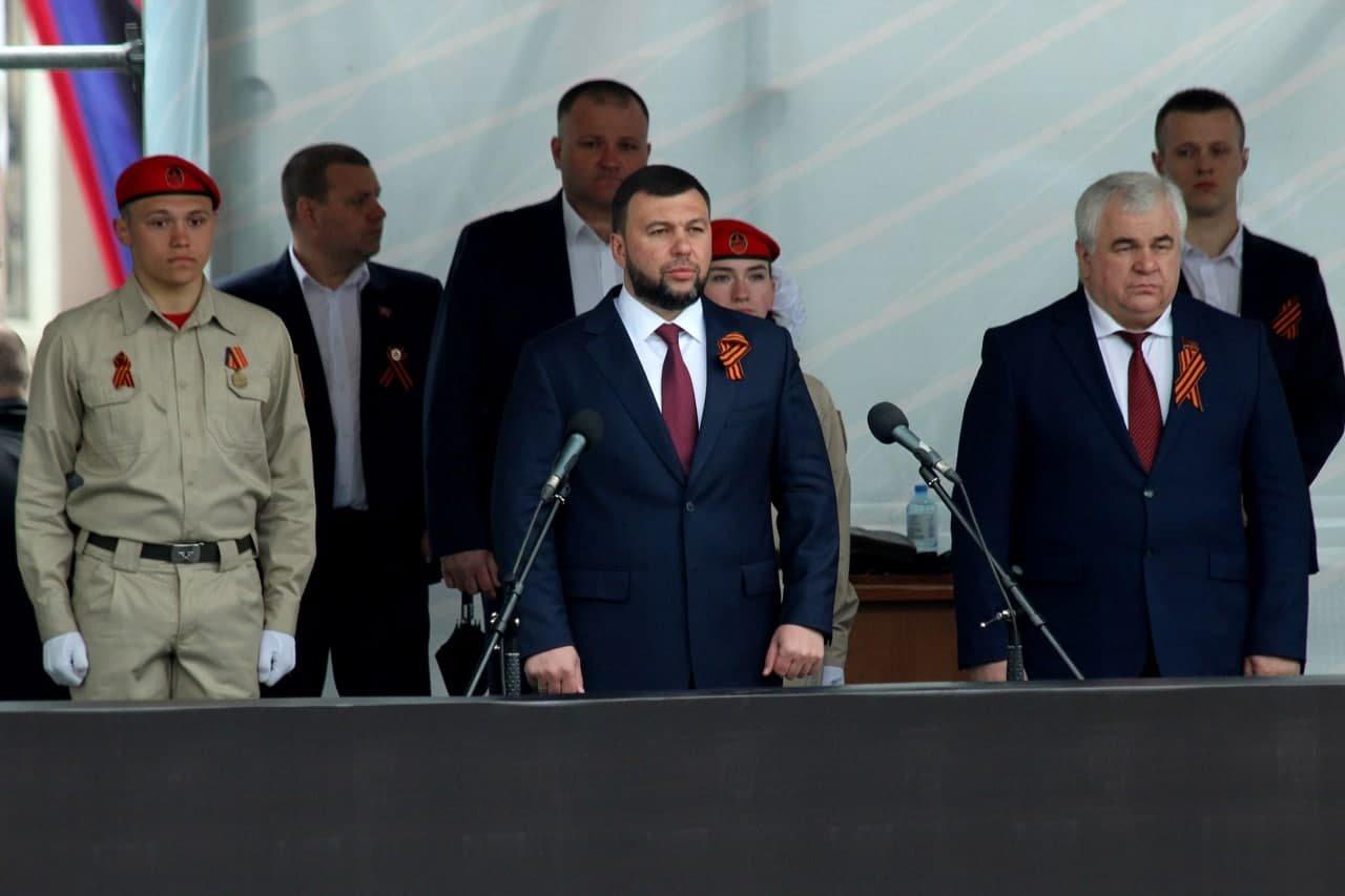 Оккупанты провели военный парад в Донецке, - ФОТО, фото-7