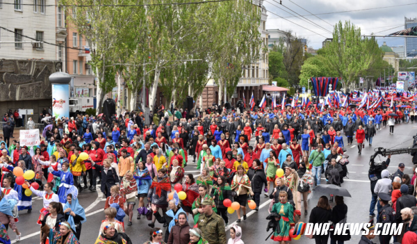 Оккупанты в Донецке отпраздновали очередную годовщину «референдума ДНР», - Фото, фото-3