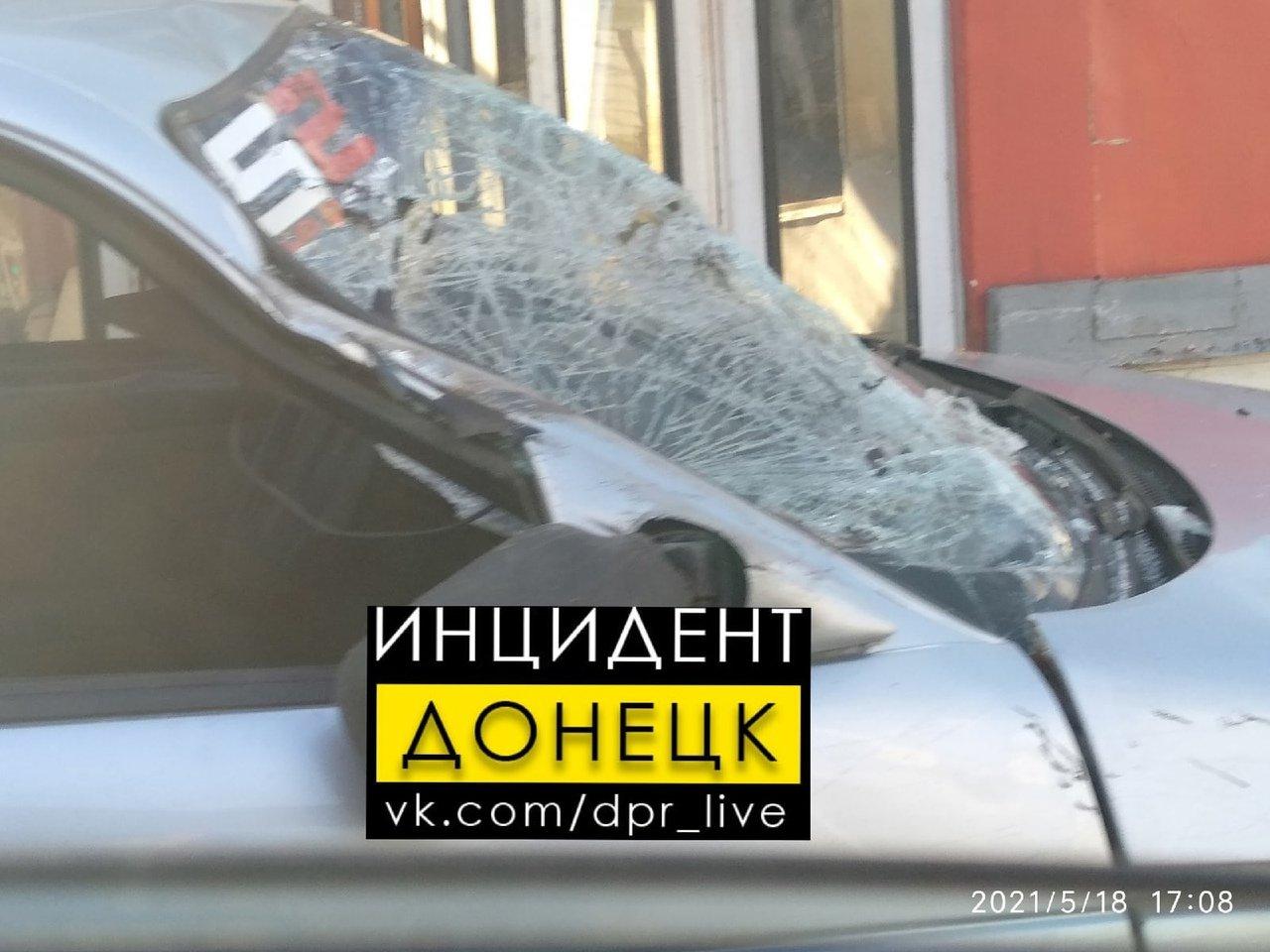 В Донецке столкнулись трамвай и легковушка, - ФОТО, фото-2
