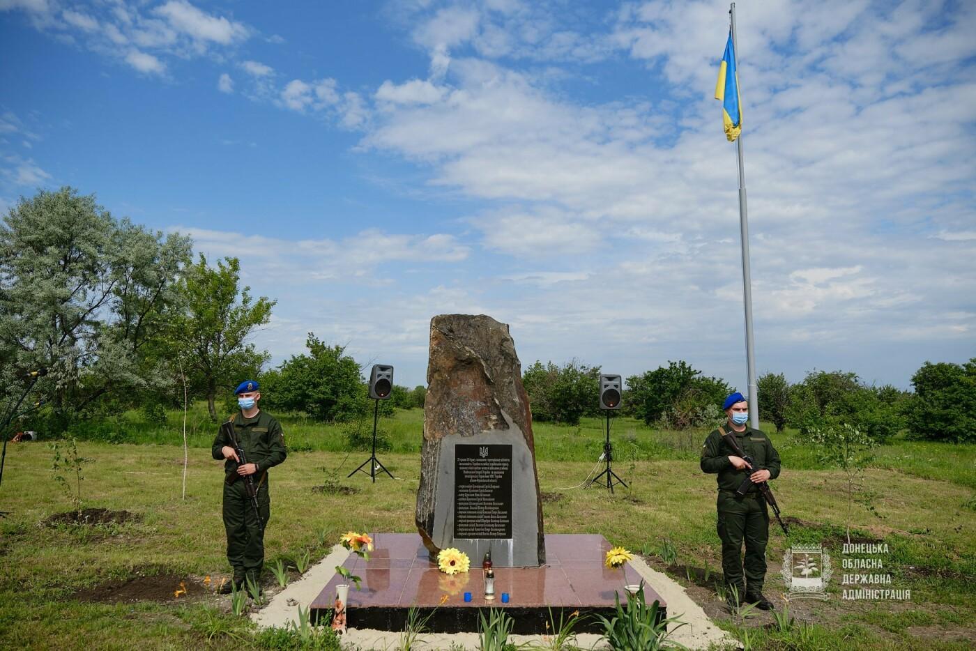 В Донецкой области почтили память 12 погибших украинских воинов во главе с генералом Кульчицким, - ФОТО, фото-2