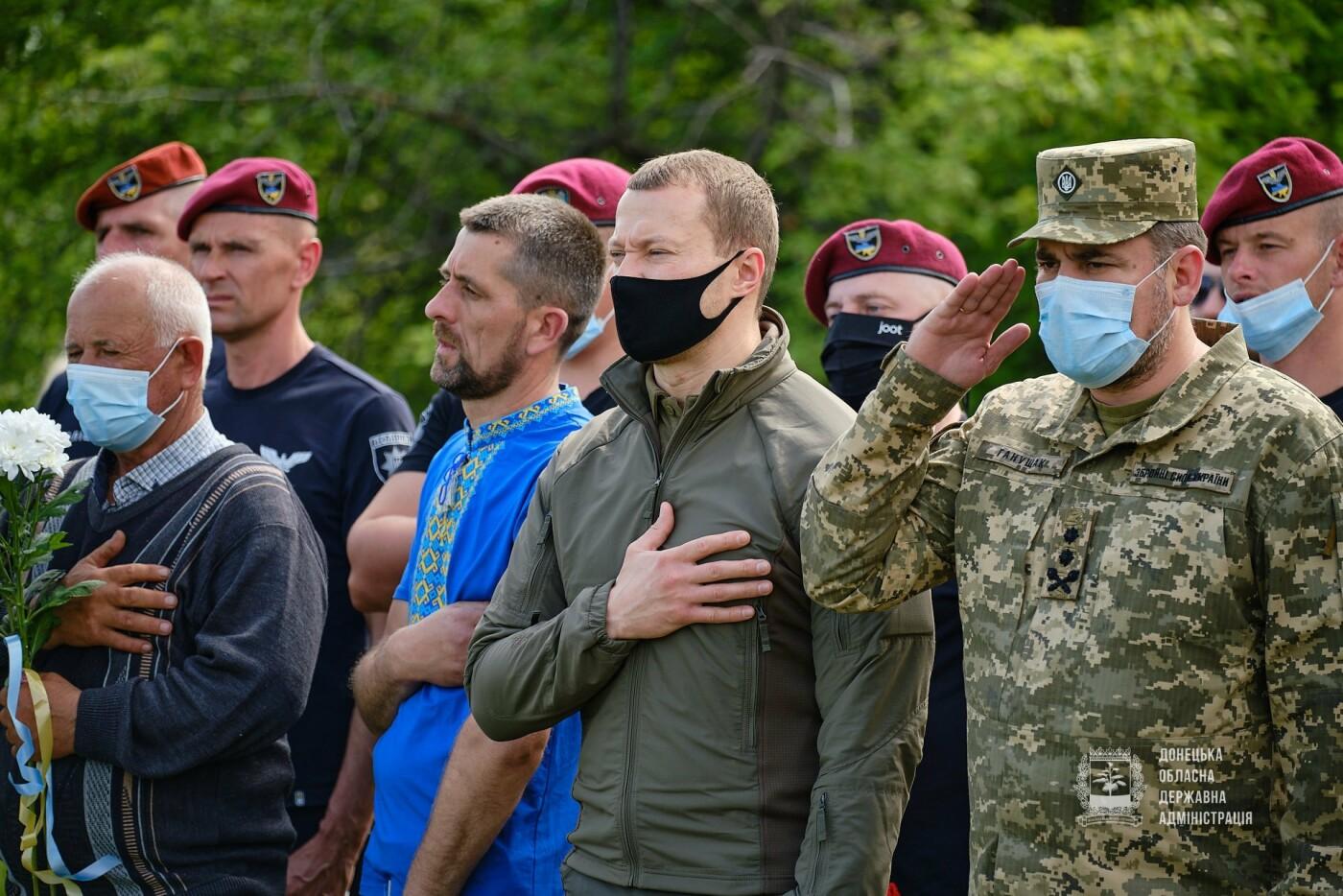 В Донецкой области почтили память 12 погибших украинских воинов во главе с генералом Кульчицким, - ФОТО, фото-1