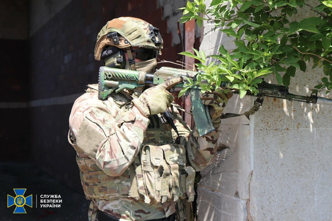 Украинские спецслужбы провели учения вблизи линии разграничения на Донбассе, - ФОТО, фото-12