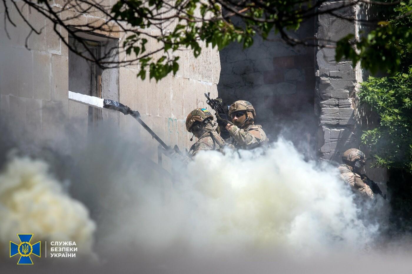 Украинские спецслужбы провели учения вблизи линии разграничения на Донбассе, - ФОТО, фото-10