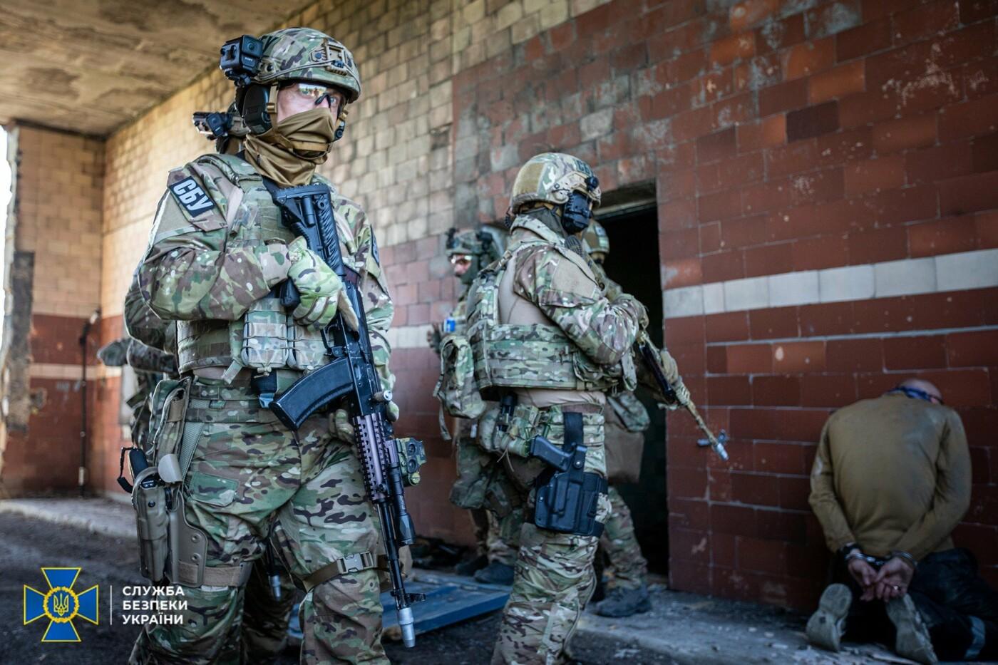 Украинские спецслужбы провели учения вблизи линии разграничения на Донбассе, - ФОТО, фото-9